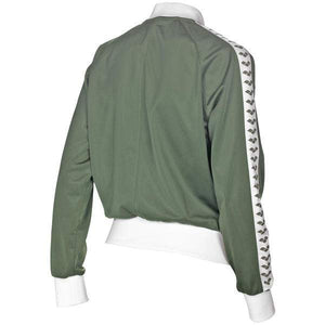 Arena - Relax IV Team - Giacca Zip Donna - Army/White/Army