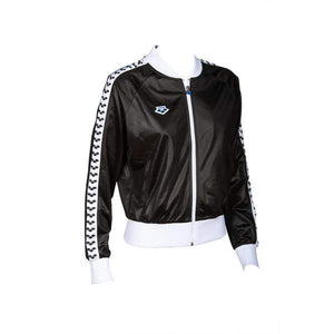 Arena - Relax IV Team - Giacca Zip Donna - Black/White/Black