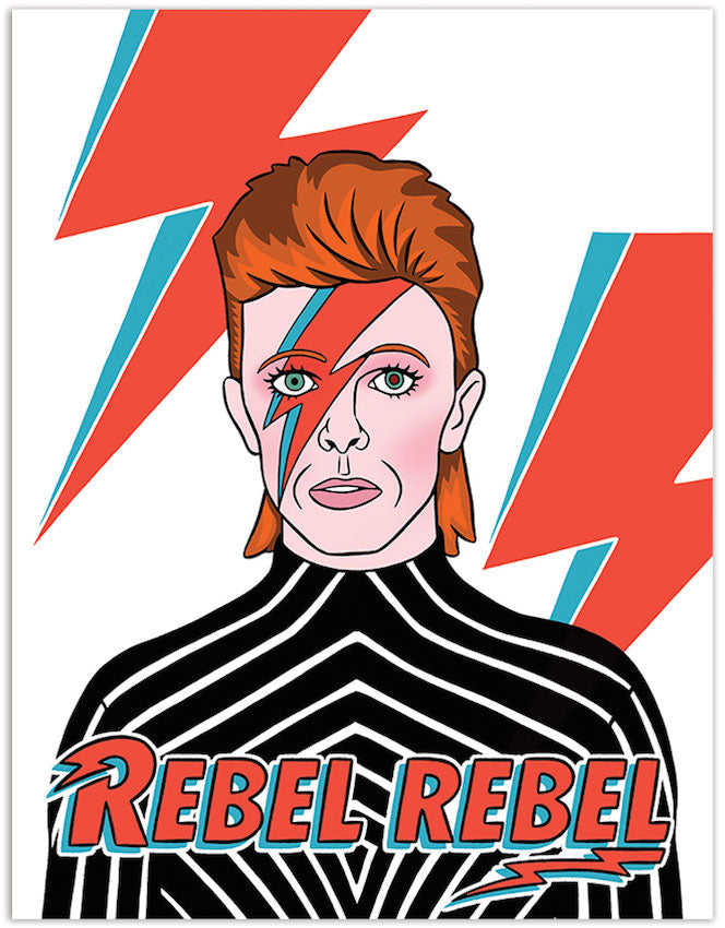 Rebel Rebel - The Found Birthday Card