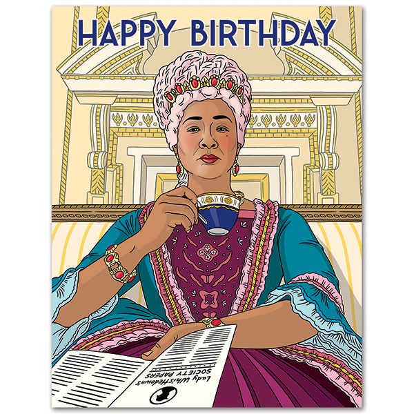 Spill the Tea - The Found Birthday Card
