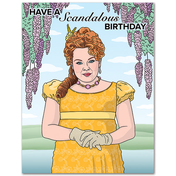 Have a Scandalous Birthday - The Found Birthday Card