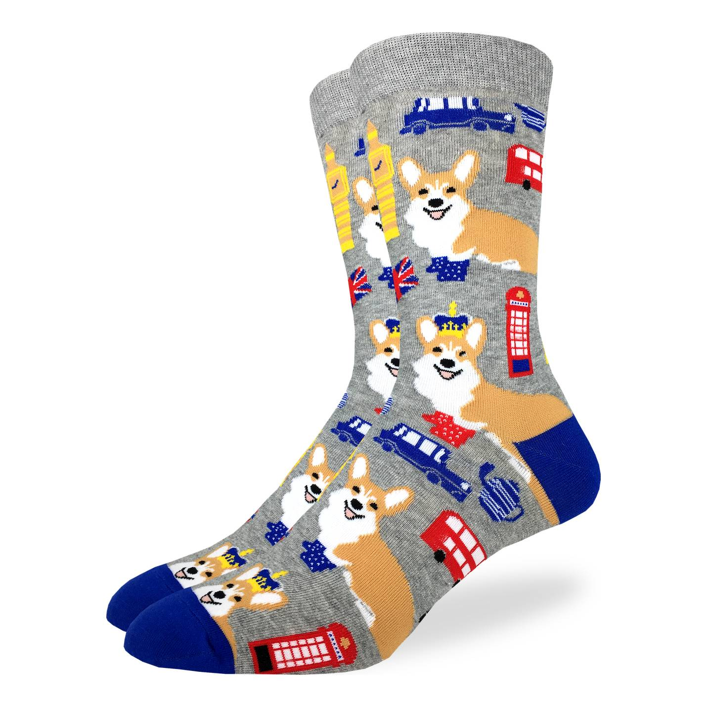 Good Luck Sock Mens - Corgi's in London
