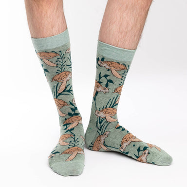 Good Luck Socks Mens - Sea Turtles