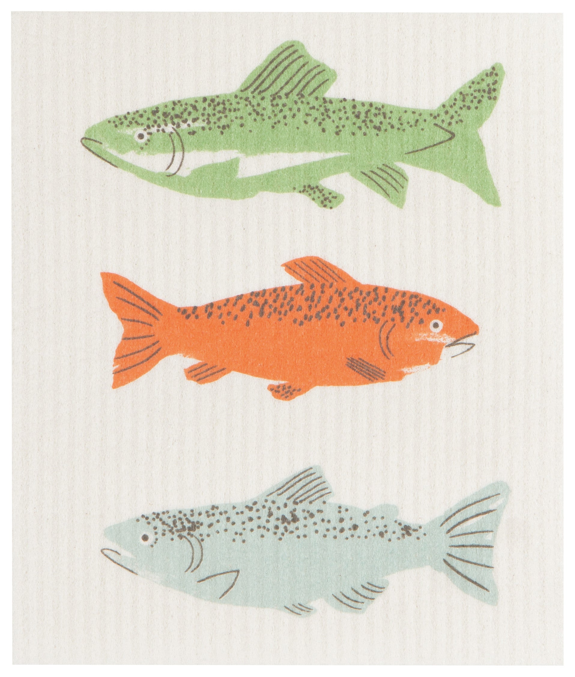 Swedish Sponge Cloth - Gone Fishin
