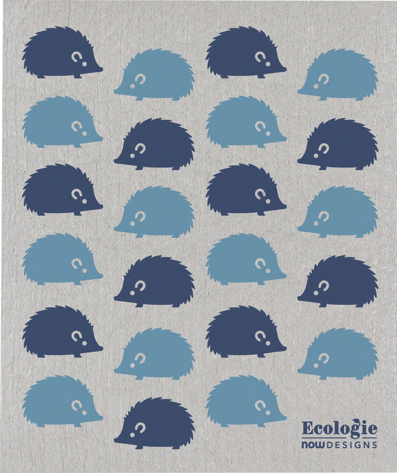 Swedish Sponge Cloth - Happy Hedgehog