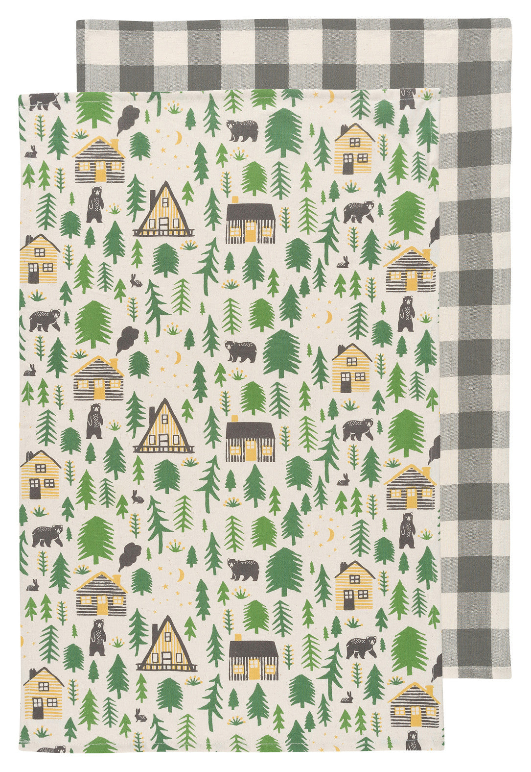 Dish Towel Set of 2 - Wild & Free