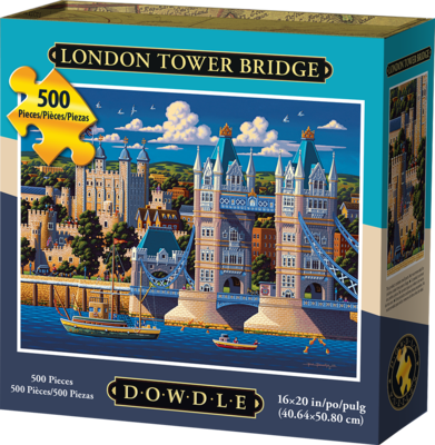Dowdle - London Tower Bridge 500 piece Puzzle