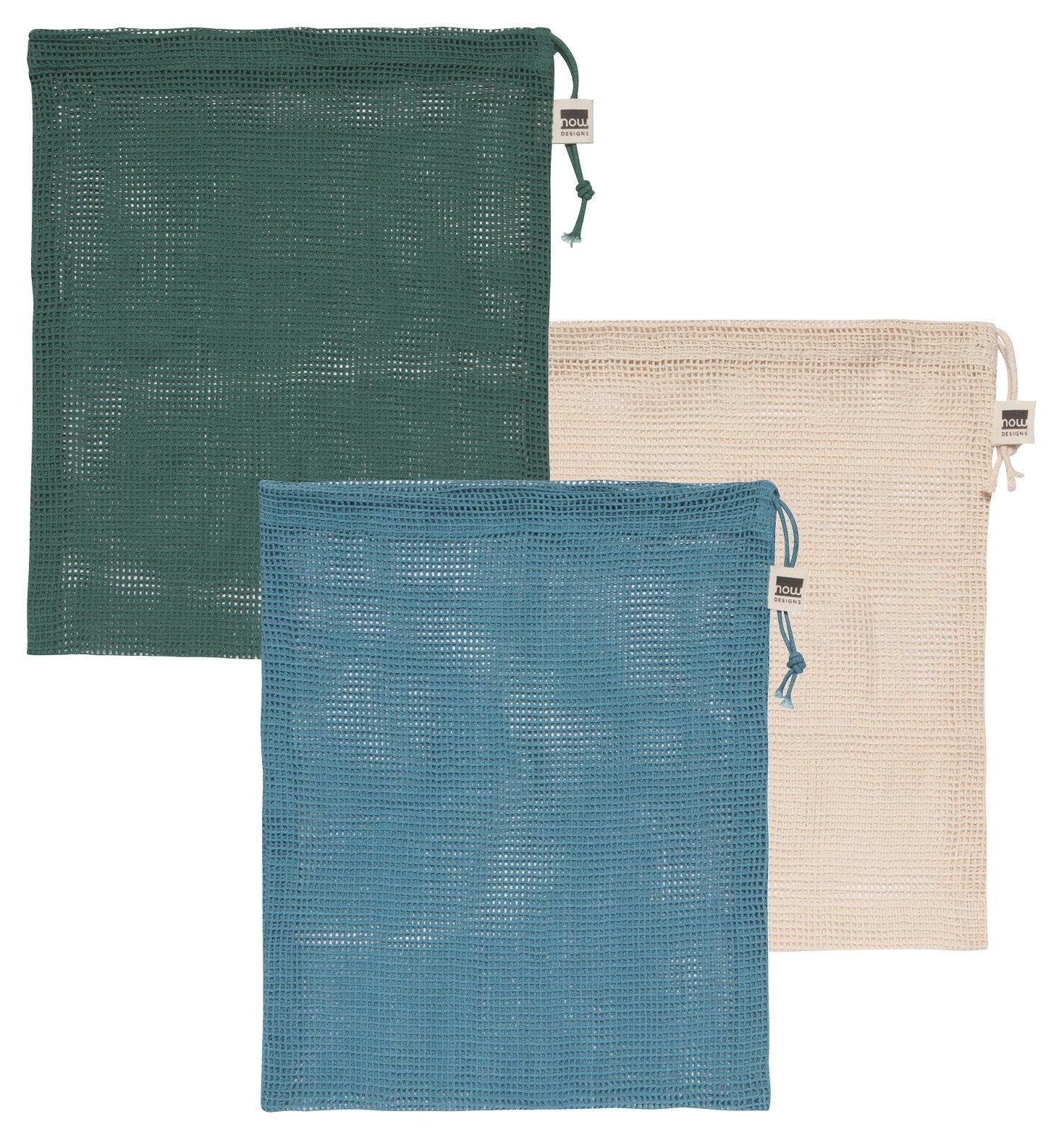 Save-It Le Marche Produce Bags - Set of 3 Blues