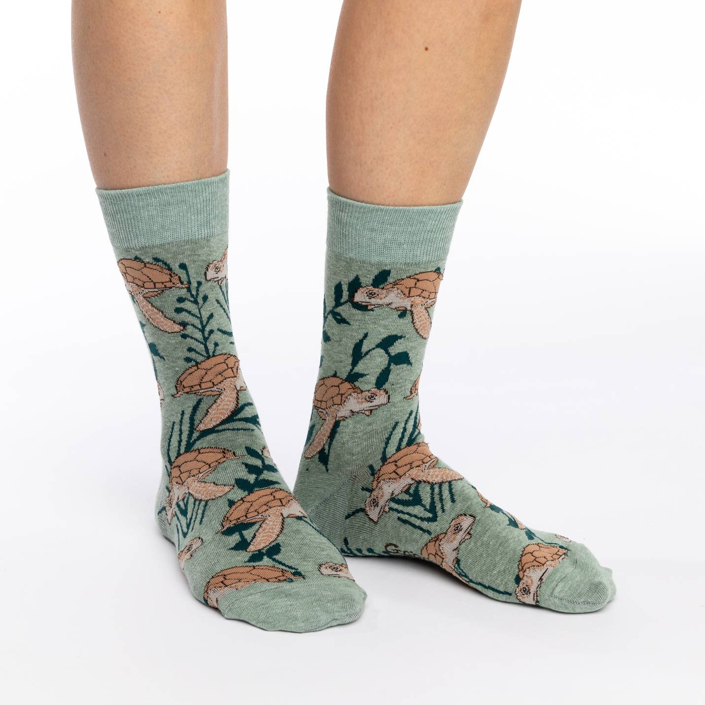Good Luck Sock Women's - Sea Turtles