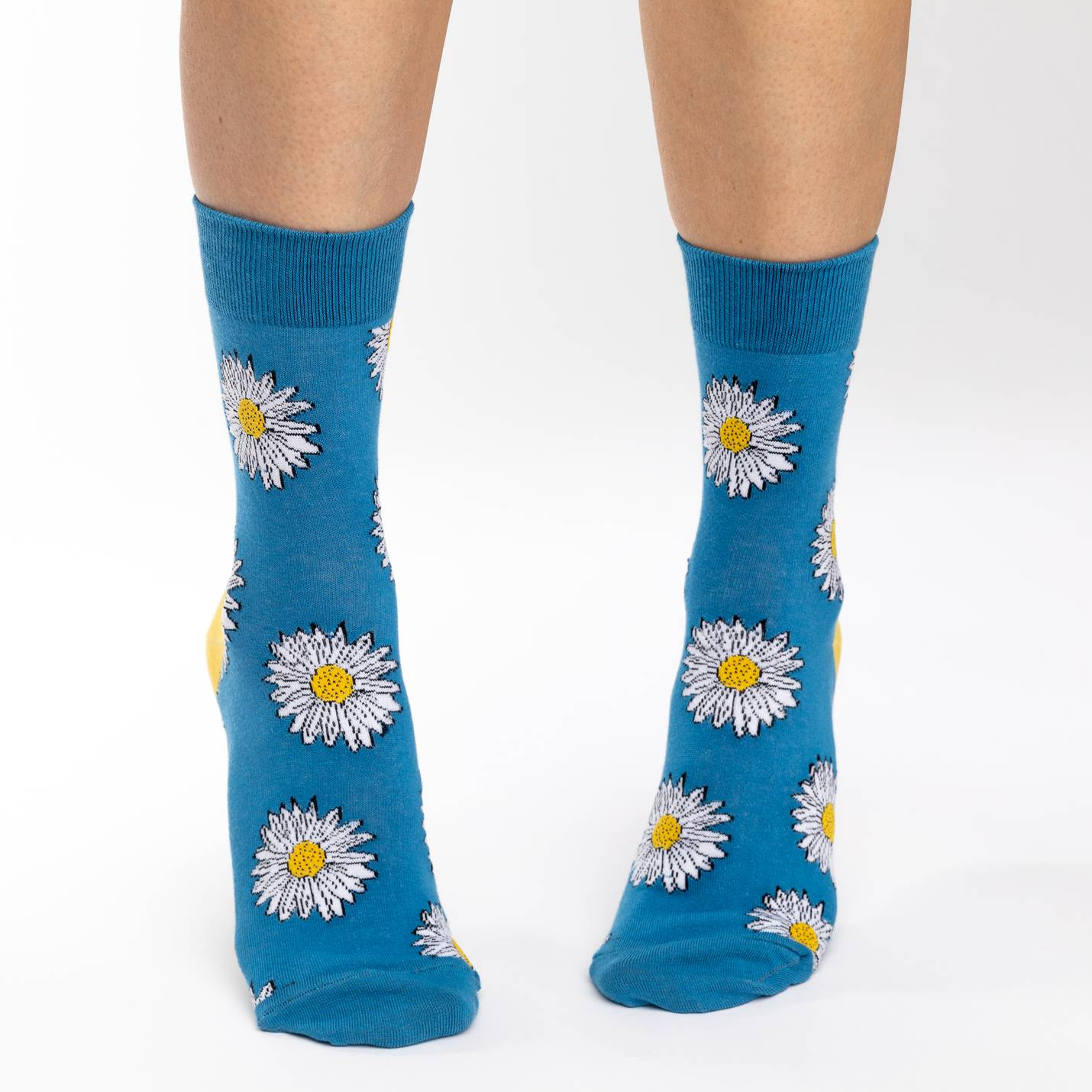 Good Luck Sock Women's - Daisy Flowers