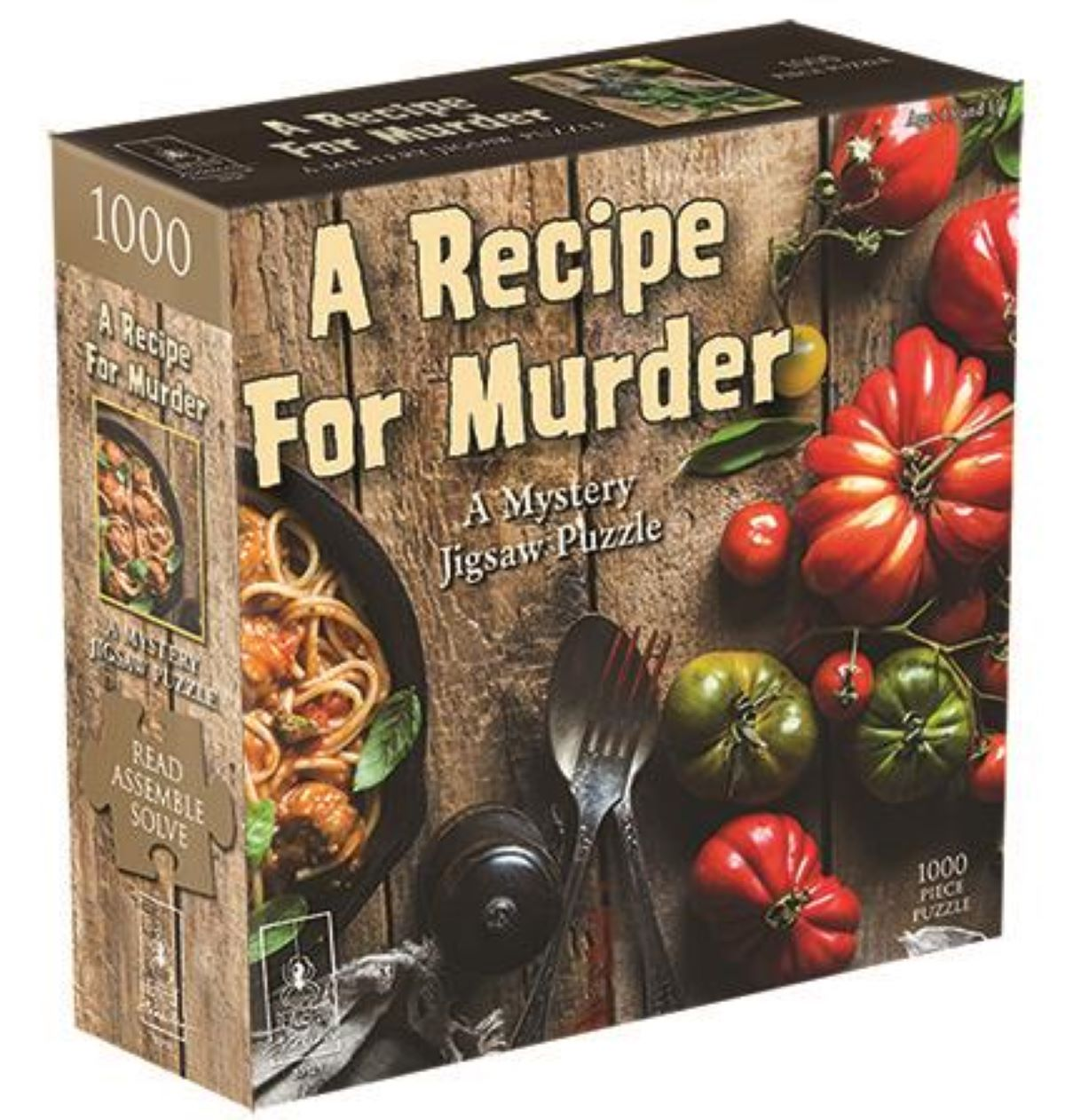 A Recipe for Murder - A Mystery Jigsaw Puzzle