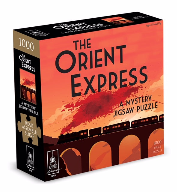 The Orient Express - A Mystery Jigsaw Puzzle