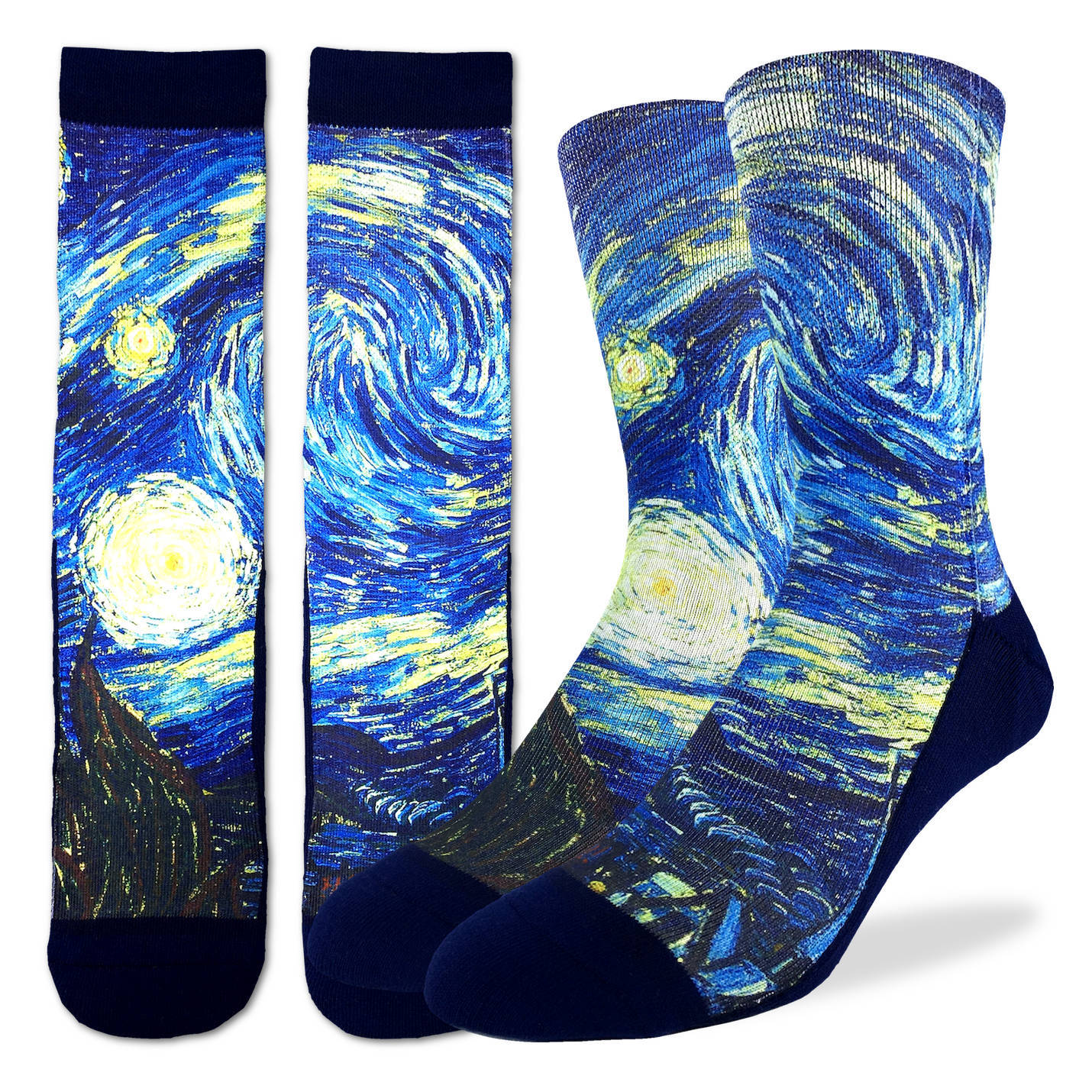 Good Luck Mens Active Fit - The Starry Night