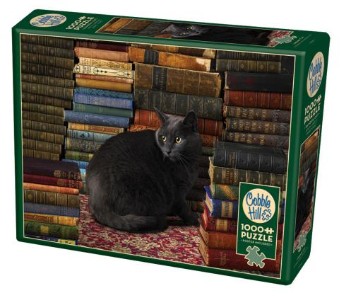 Library Cat 1000 pc Cobble Hill