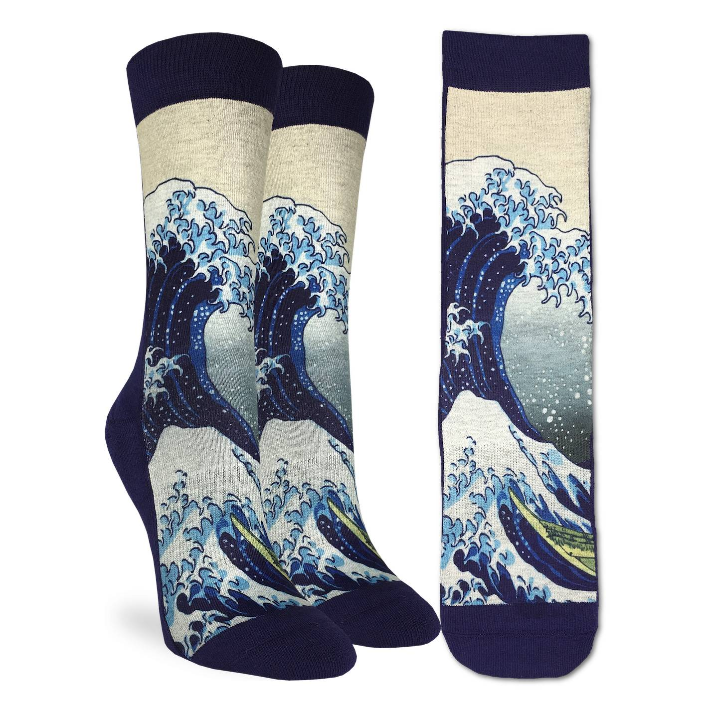 Good Luck Womens Active Fit - The Great Wave of Kanagawa