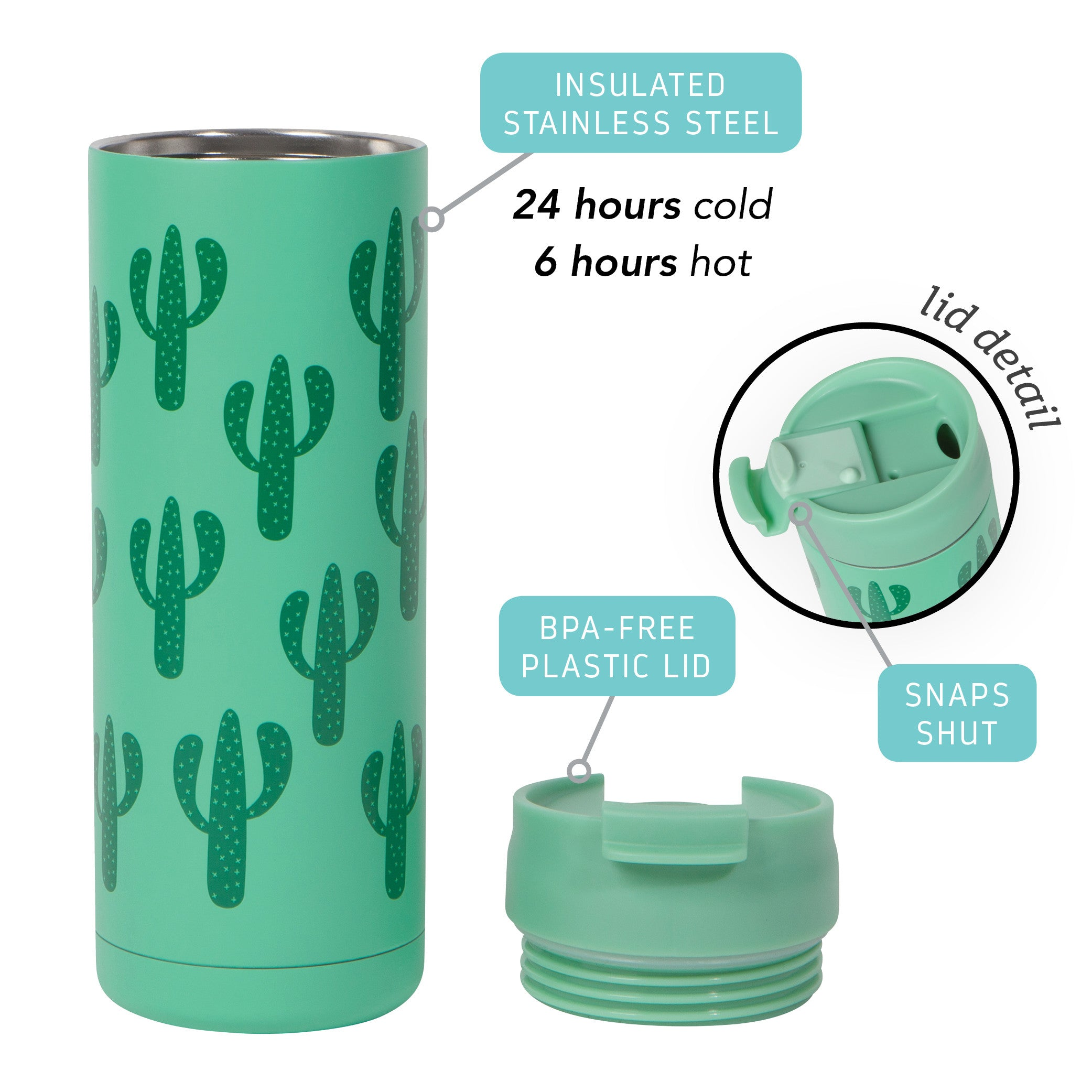 Roam Travel Mug - Cactus