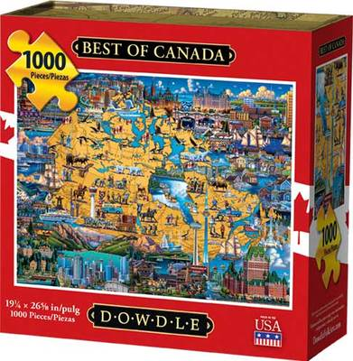 Best of Canada 1000 piece puzzle