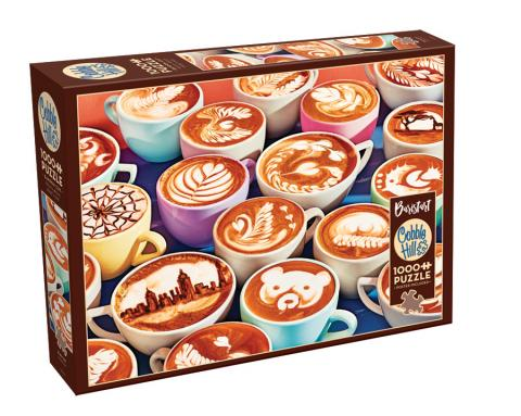 BaristArt 1000 pc Cobble Hill