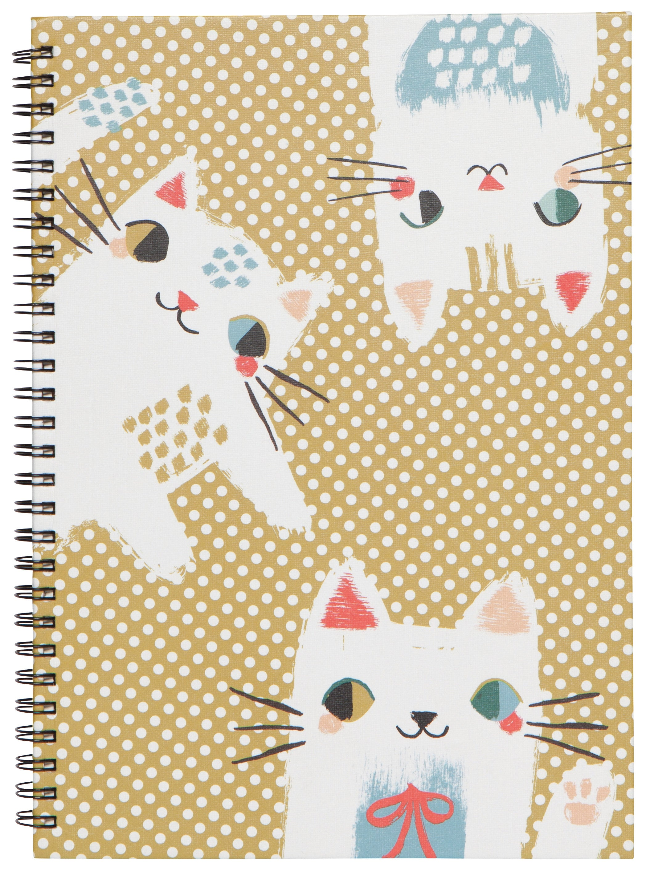 Ring Bound Notebook - Meow Meow