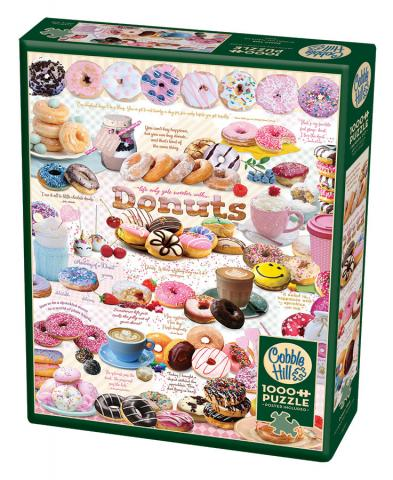 Donut Time - 1000 piece Cobble Hill