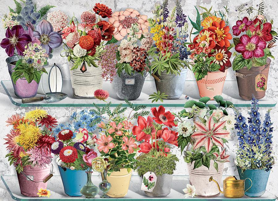 Beaucoup Bouquet 1000 pc Cobble Hill