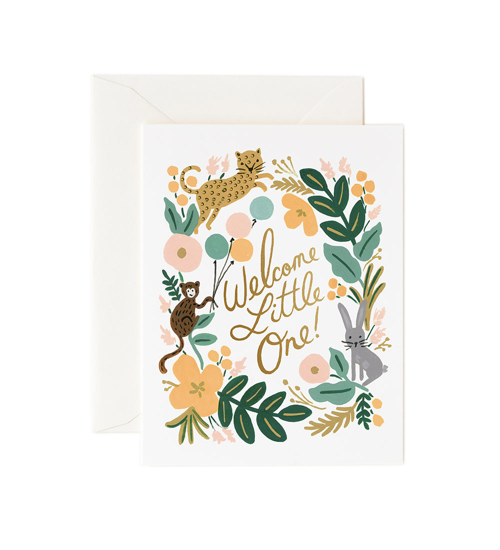 Welcome Little One! - Rifle Paper Baby Card