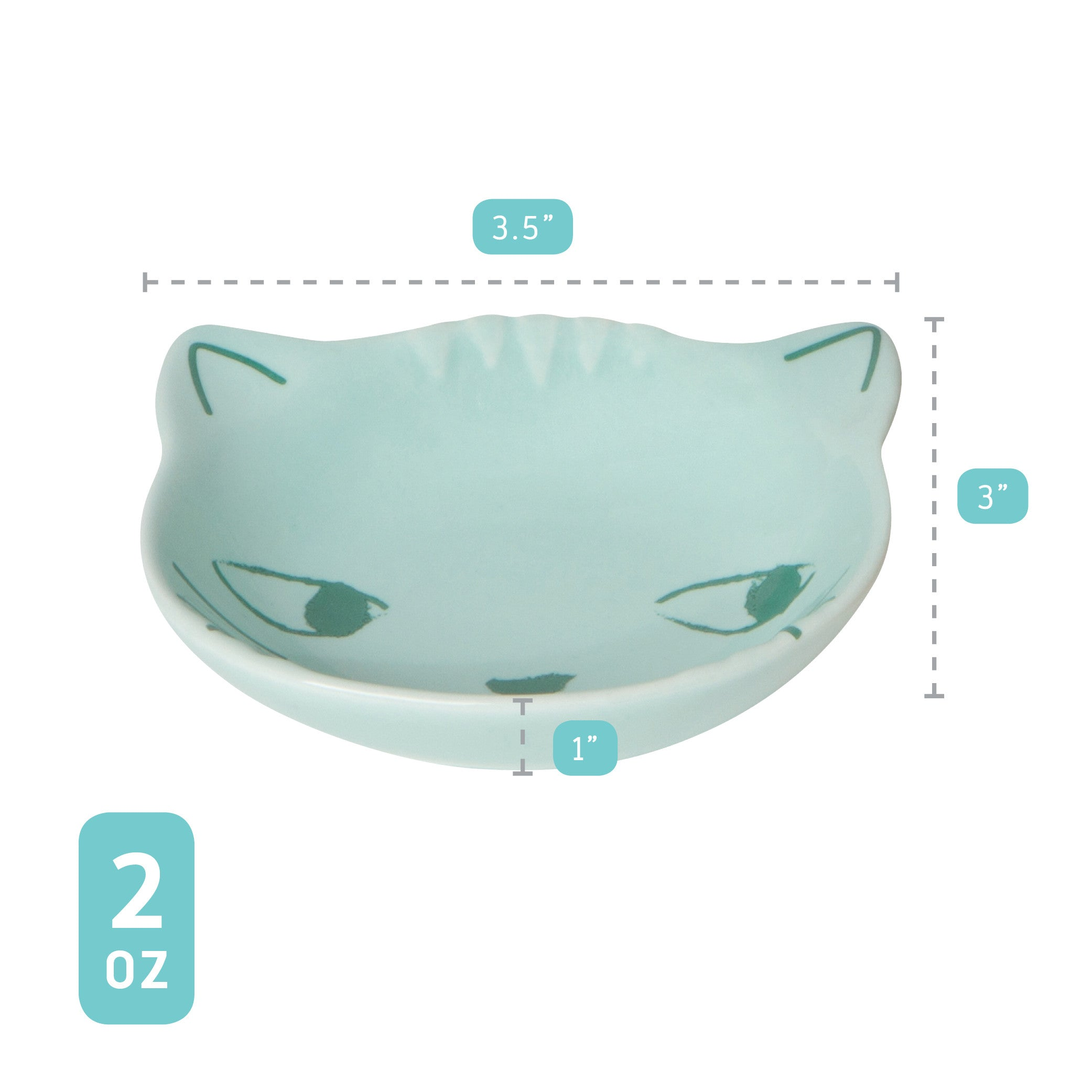 Cat Pinch Bowls - Set of Six