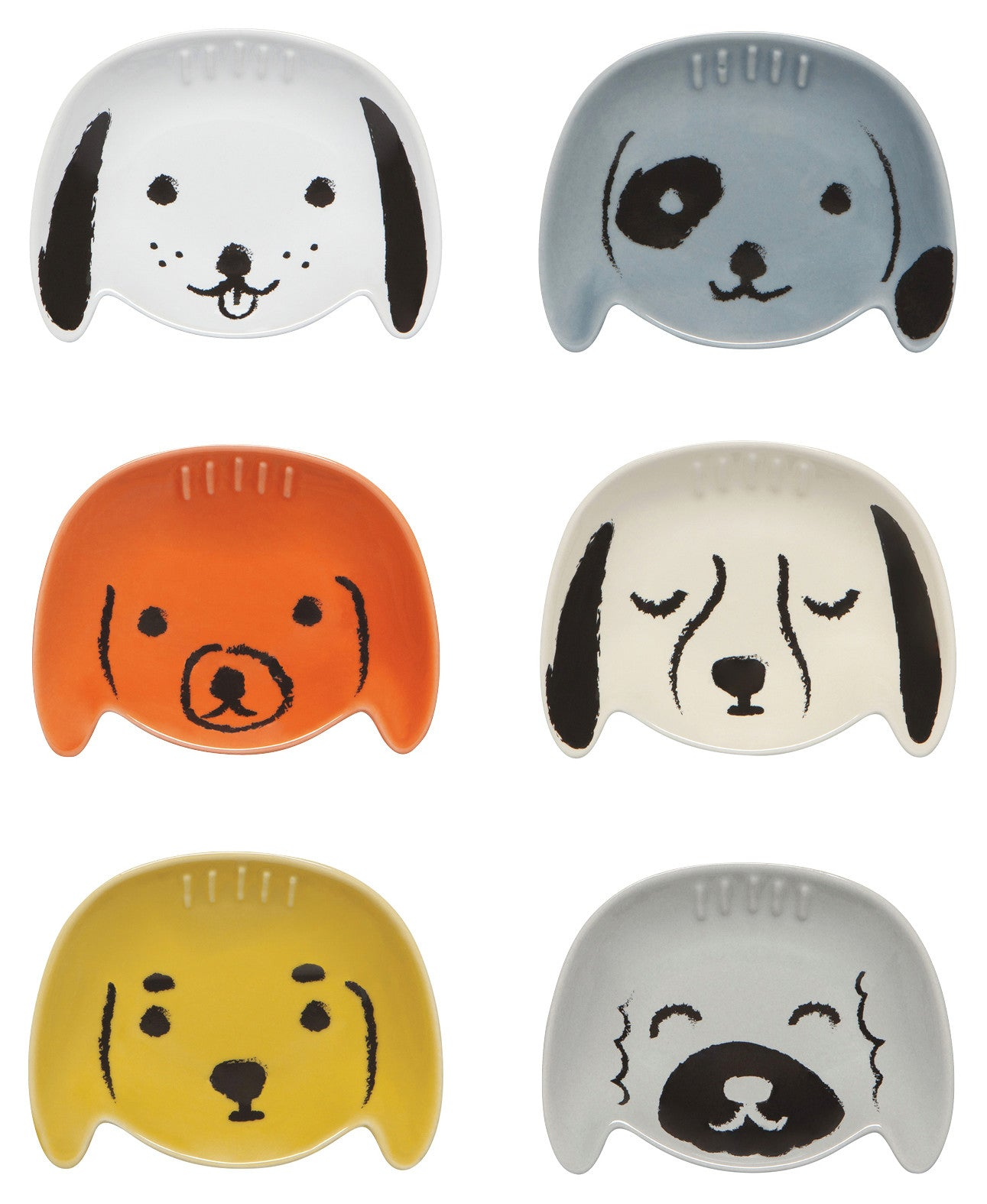 Puppy Pinch Bowls - Set of Six