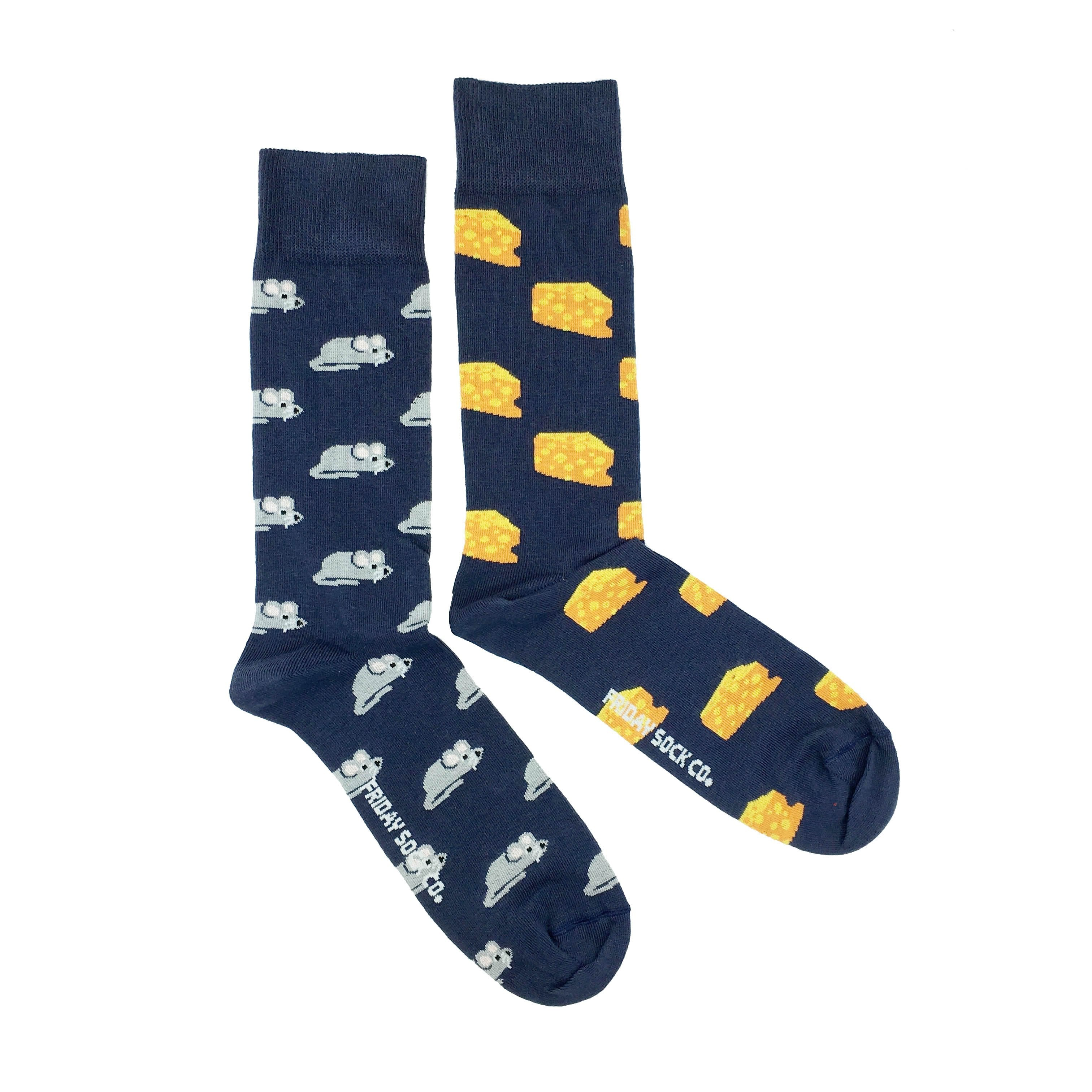 Friday Sock Co. -  Men's Mouse & Cheese