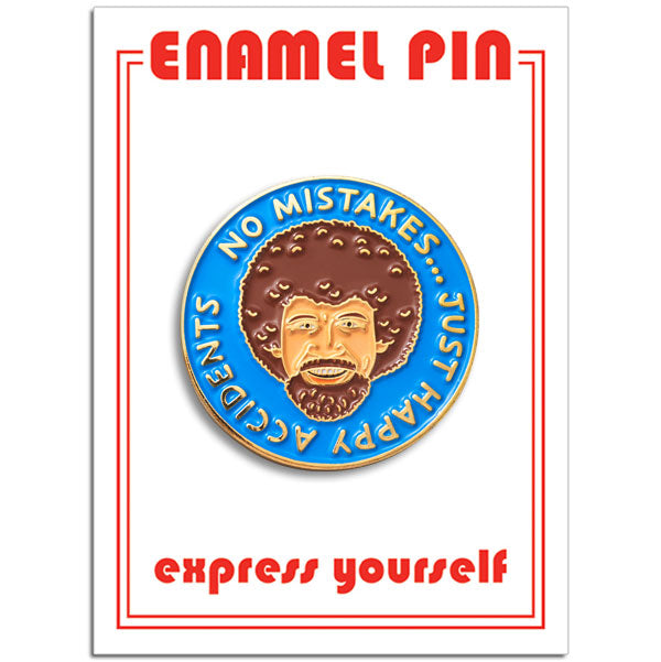 The Found - Bob Ross pin