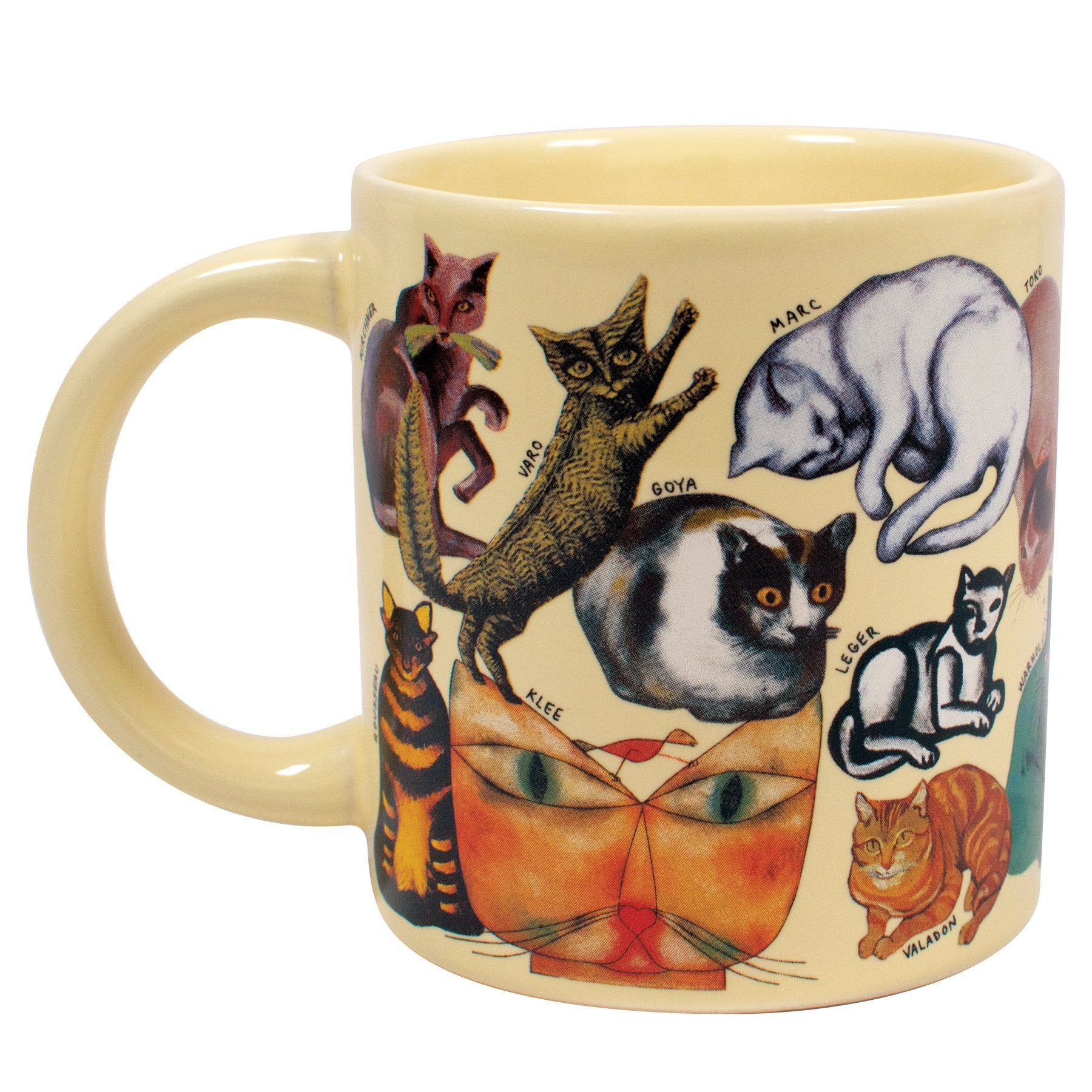 The Artistic Cat Mug