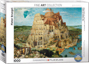 The Tower of Babel 1000 pc Eurographics