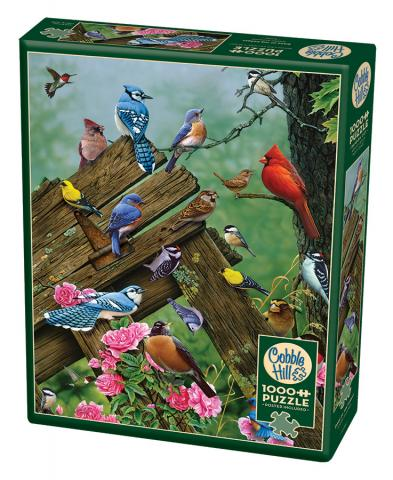 Birds of the Forest 1000 piece Cobble Hill