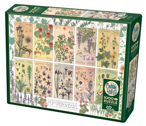 Botanicals by Verneuil 1000 piece Cobble Hill