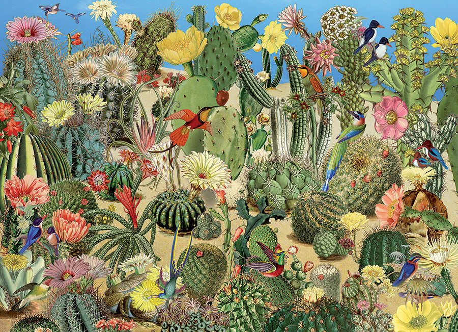 Cactus Garden 1000 piece Cobble Hill