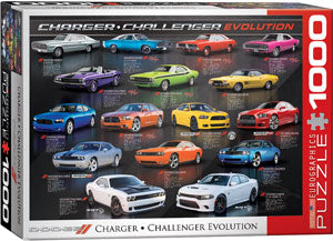 Charger Challenger Evolution 1000 piece Eurographics