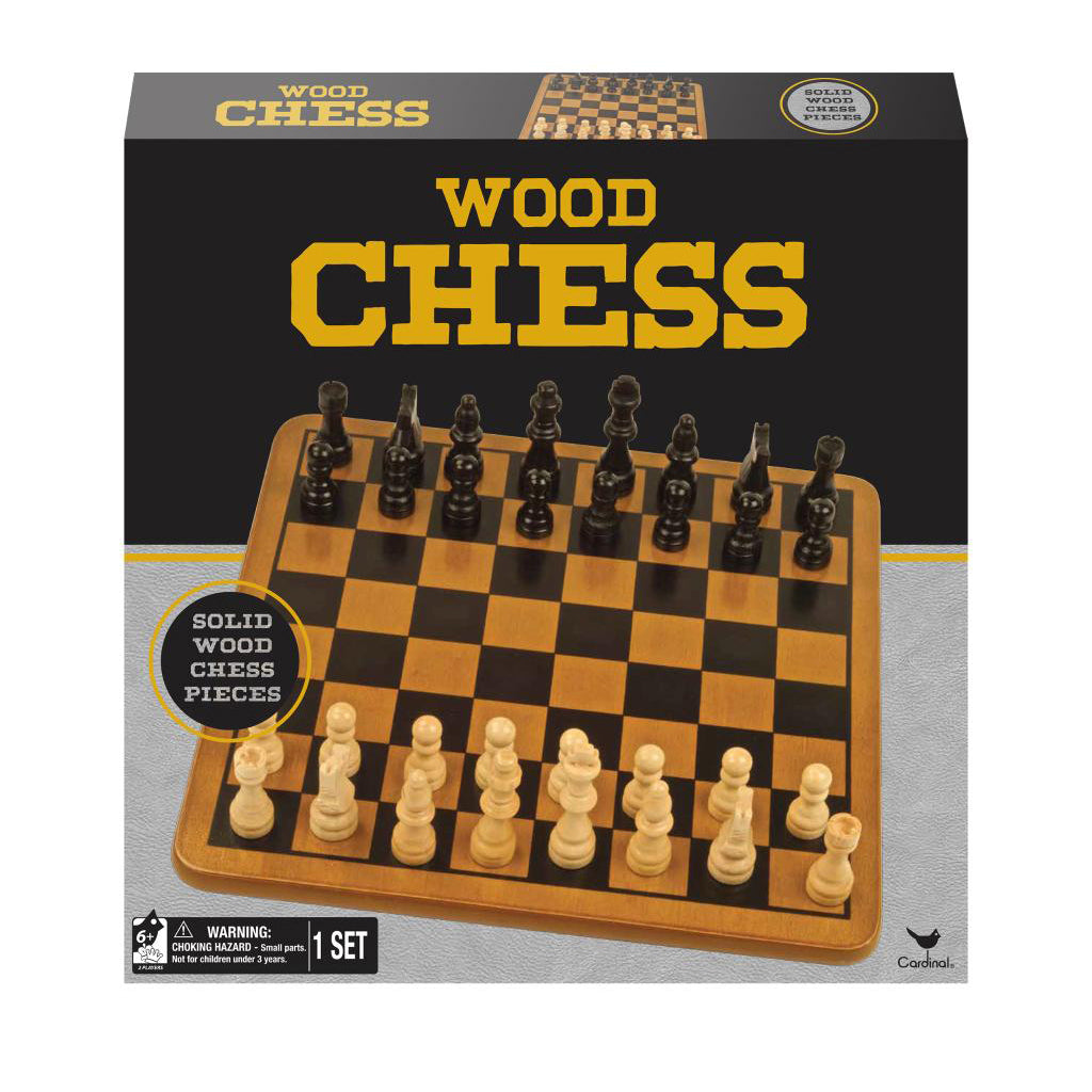 Wood Chess - Spinmaster