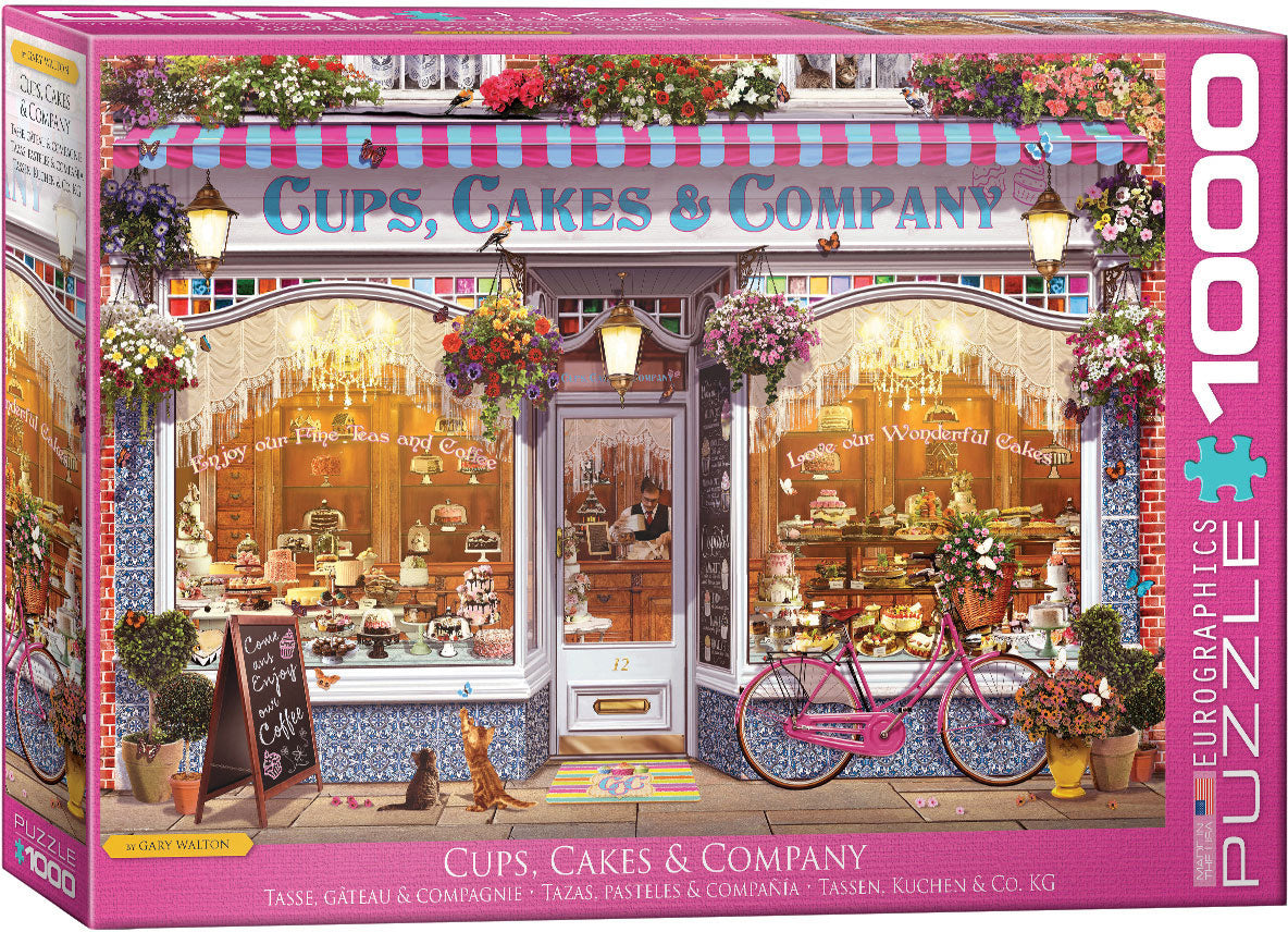 Cups Cakes & Co 1000 piece Eurographics