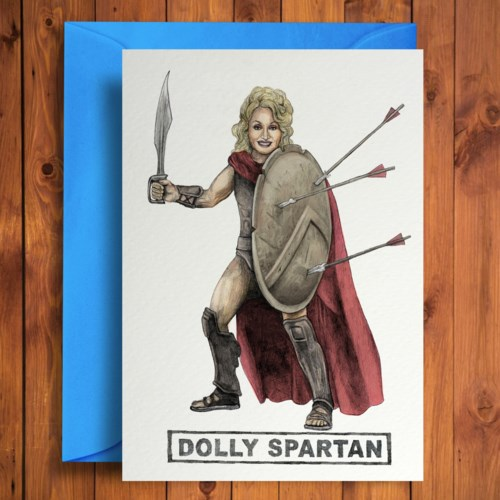 Dolly Spartan - Quite Good Cards
