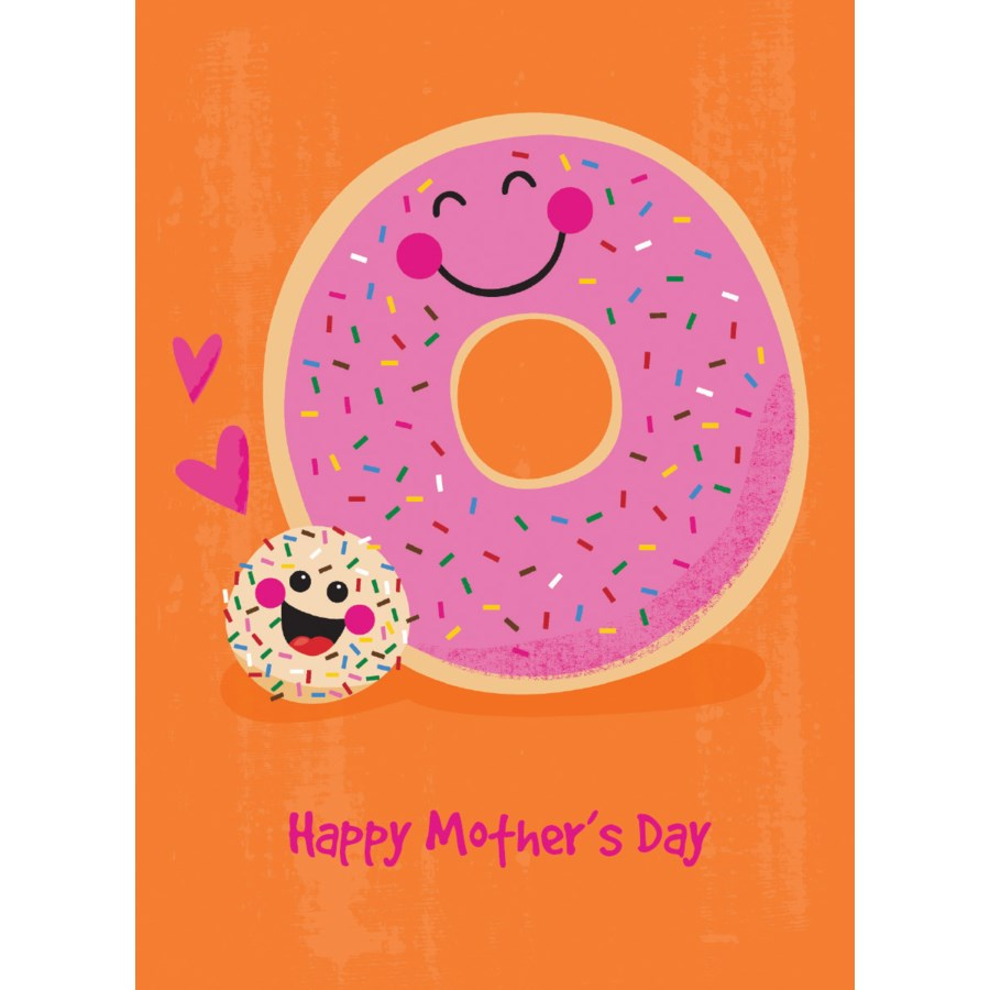 Donuts Mother's Day Card