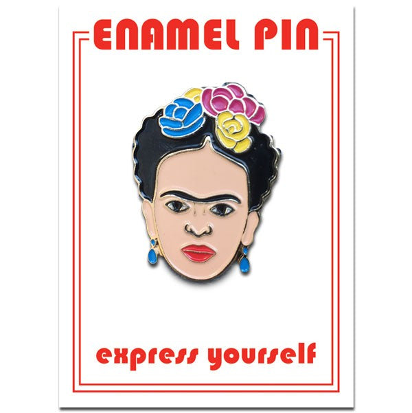 The Found - Floral Frida pin