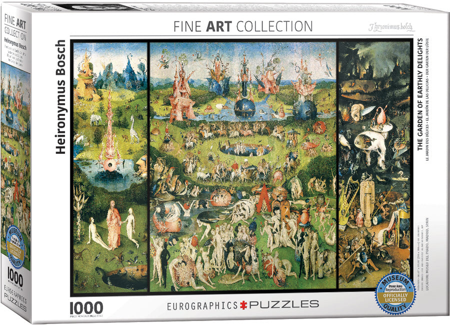The Garden of Earthly Delights 1000 piece Eurographics
