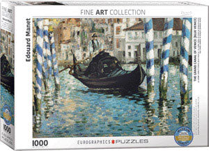 Manet - The Grand Canal of Venice 1000 piece Eurographics