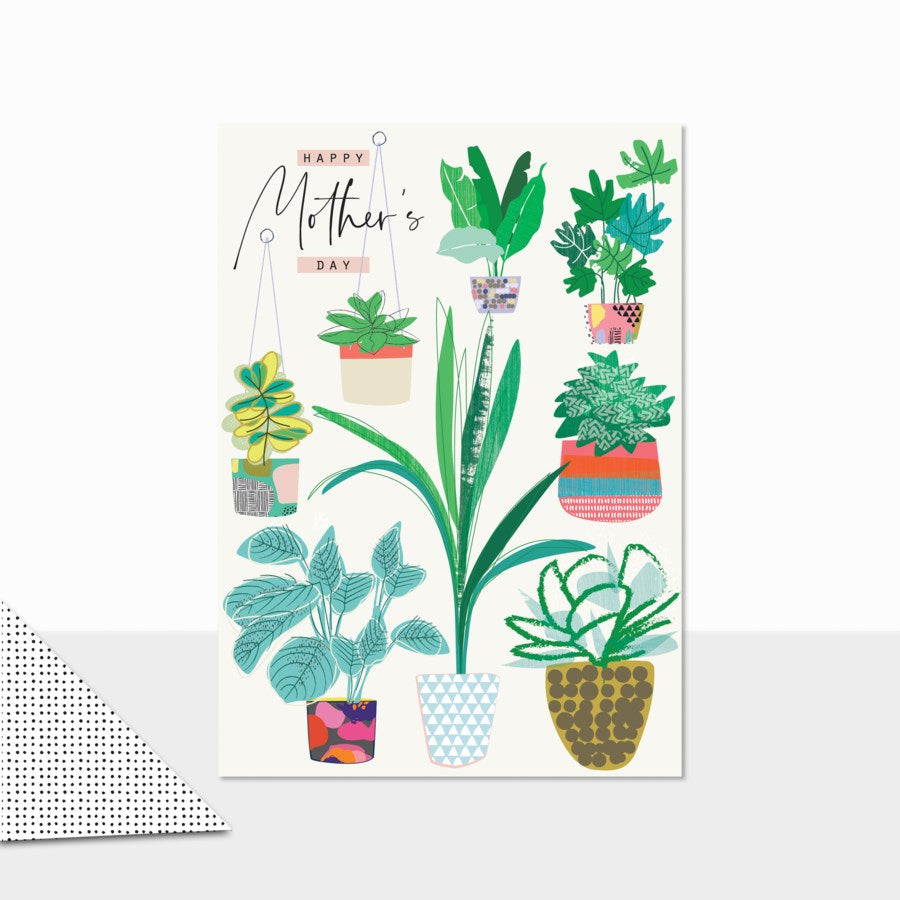 House Plants Mother's Day Card