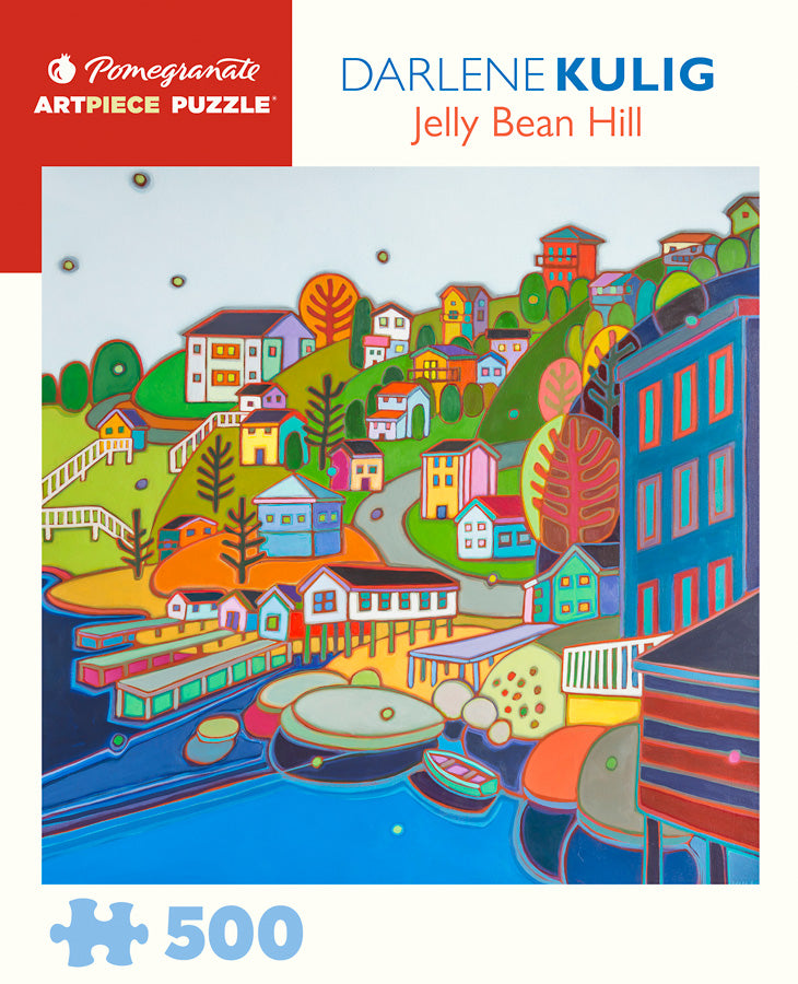 Darlene Kulig - Jellybean Hill 500 pc Pomegranate Puzzle