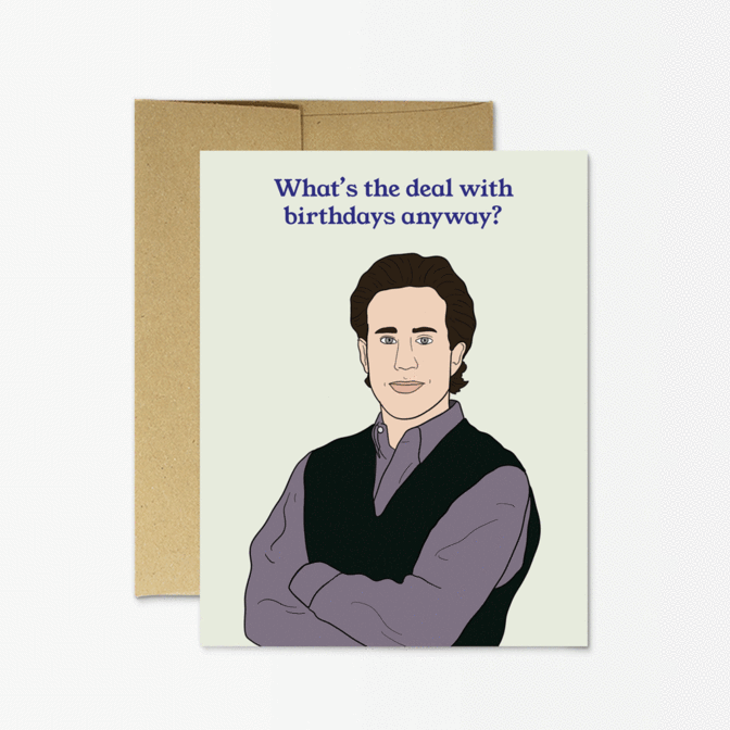 Seinfeld Birthday - Party Mountain Card