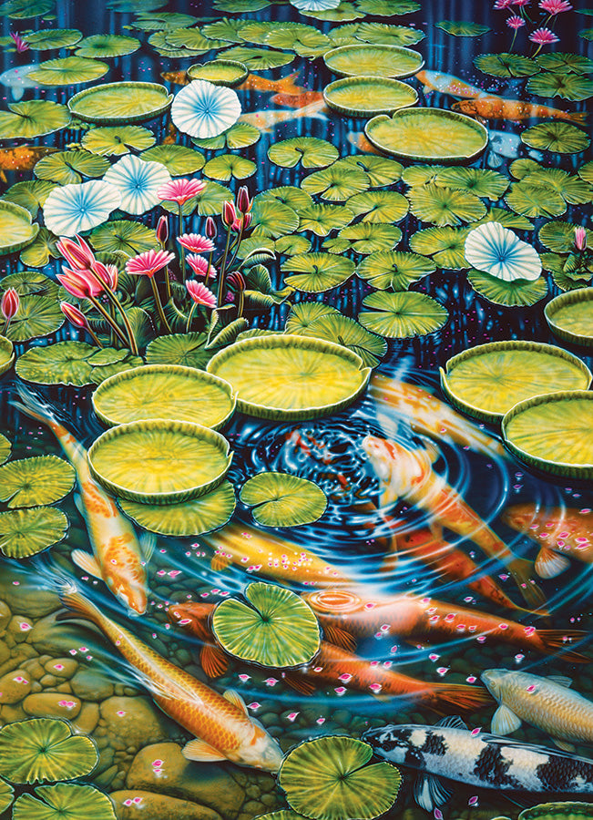 Koi Pond 1000 piece Cobble Hill