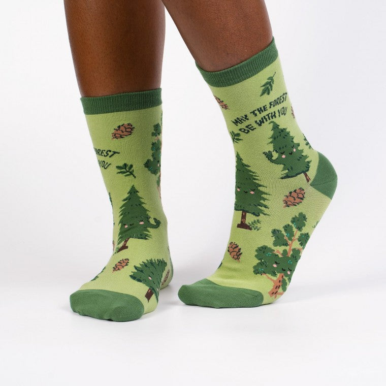 Sock it to Me Women's - May the Forest be withyou
