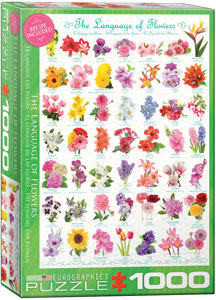 The Language of Flowers 1000pc Eurographics