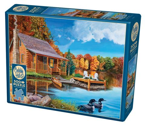 Loon Lake 500 piece Cobble Hill